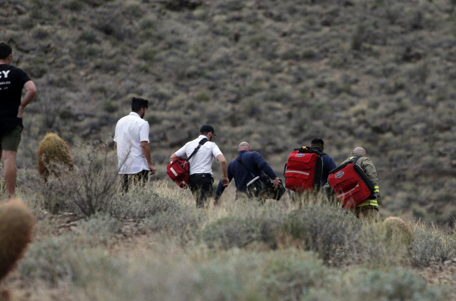 Sraigtasparnio katastrofa Didžiajame Kanjone