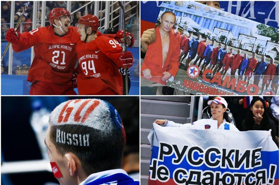 Rusijos ledo ritulio sirgaliai