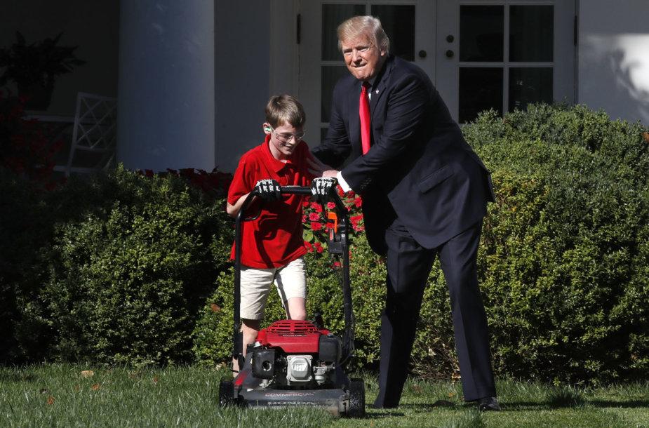 Donaldas Trumpas ir Frankas Giaccio