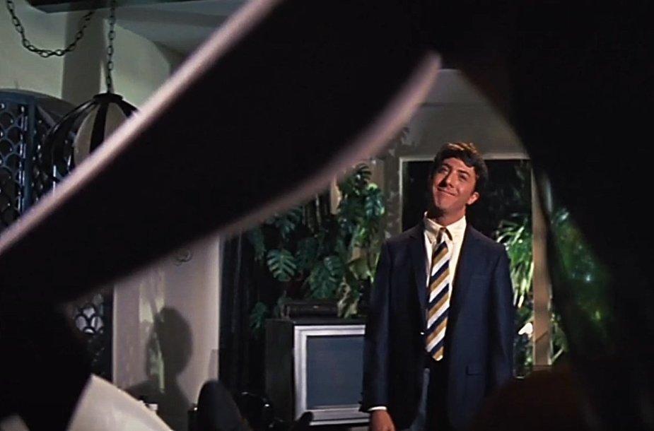 "Dustinas Hoffmanas filme ""Absolventas"""