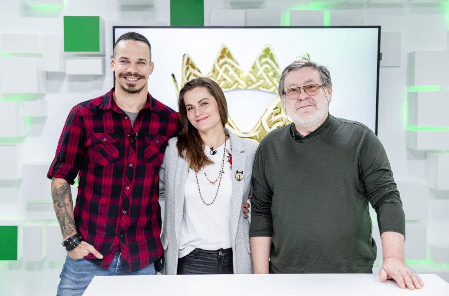 Jeronimas Milius, Jurga Šeduikytė, Kostas Smoriginas