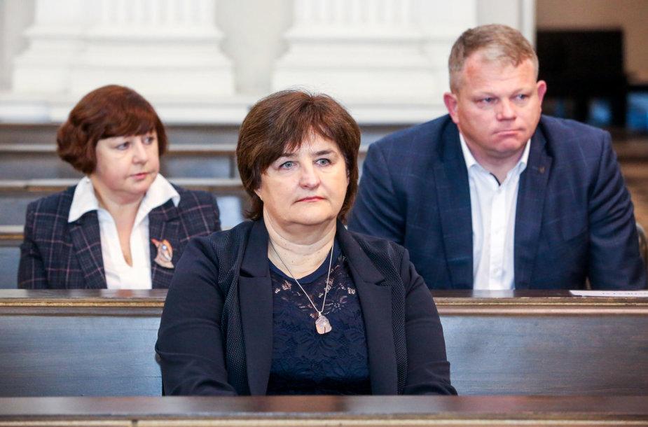 Loreta Graužinienė, Andrius Palionis, Aliną Brazdilienė