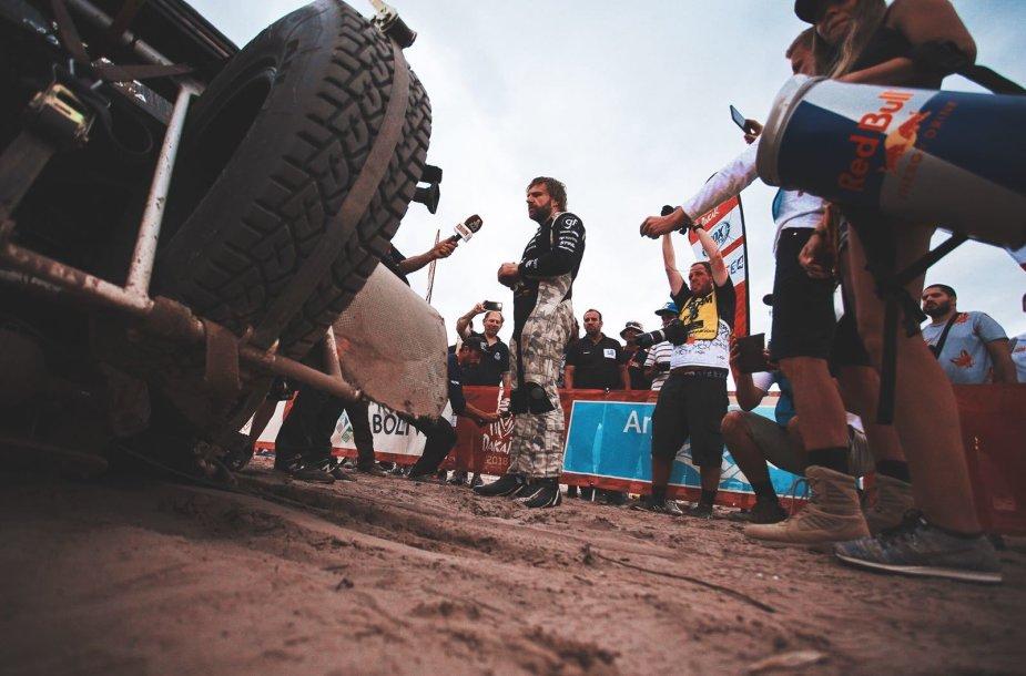 B.Vanago komandai 10-asis greičio ruožas Dakare – su nemenkais iššūkiais