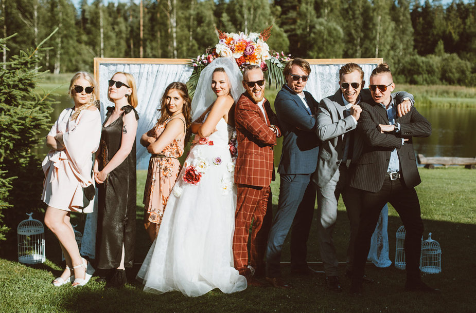 Martyno Krasnovo ir Eglės Mankutės vestuvės
