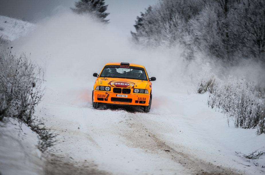 """Karolio Raišio treniruotės prieš """"Halls Winter Rally"""""""