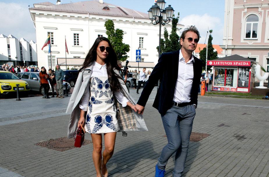 Ieva Daugirdaitė ir Marijus Mikutavičius