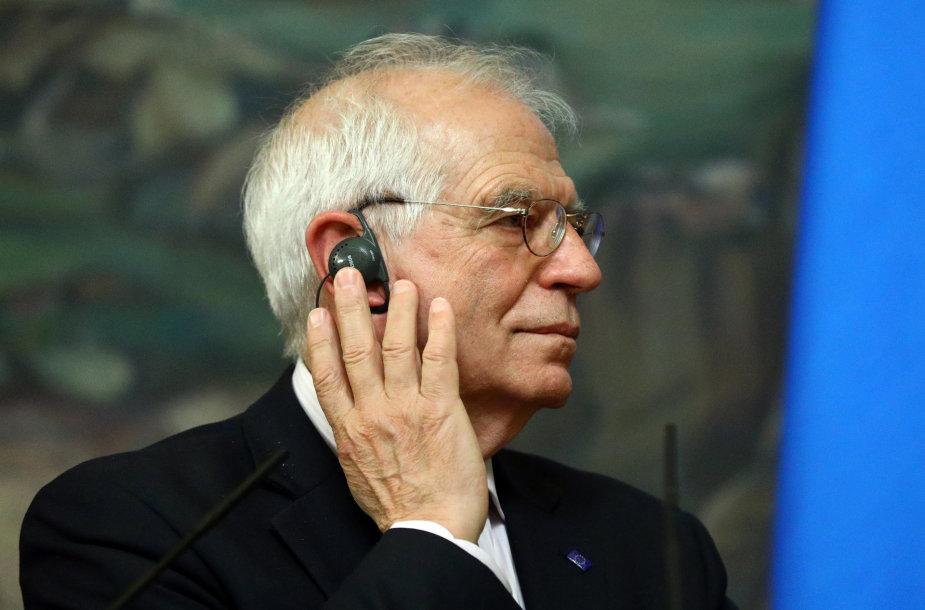 Josepas Borrellis Maskvoje