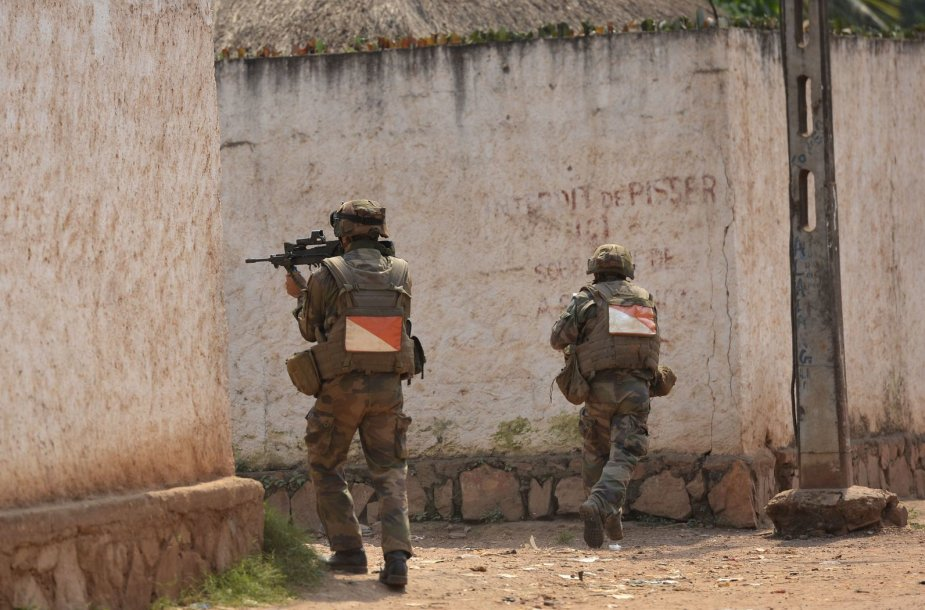 Prancūzijos kariai Centrinės Afrikos Respublikoje