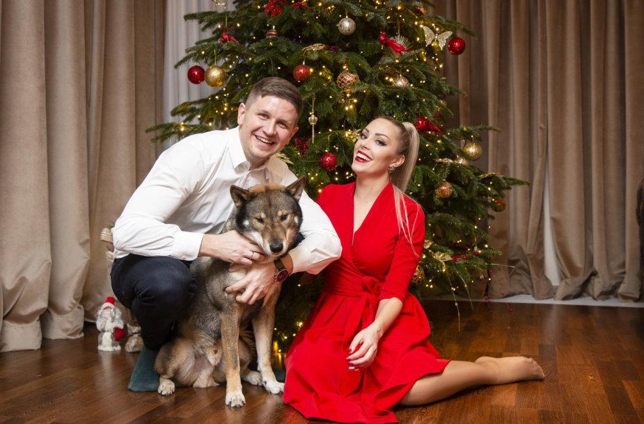 Kalėdinė nuotaika Liepos ir Evaldo Norkevičių namuose