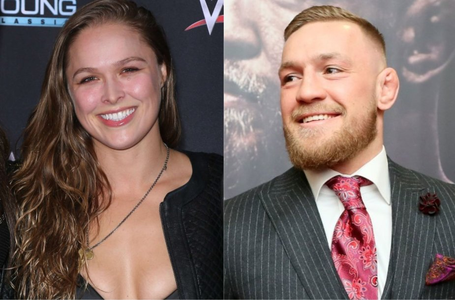 Ronda Rousey ir Conoras McGregoras