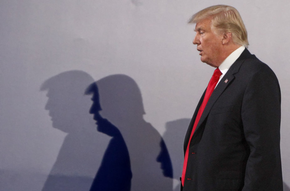 Donaldas Trumpas su šeima lankosi Lenkijoje