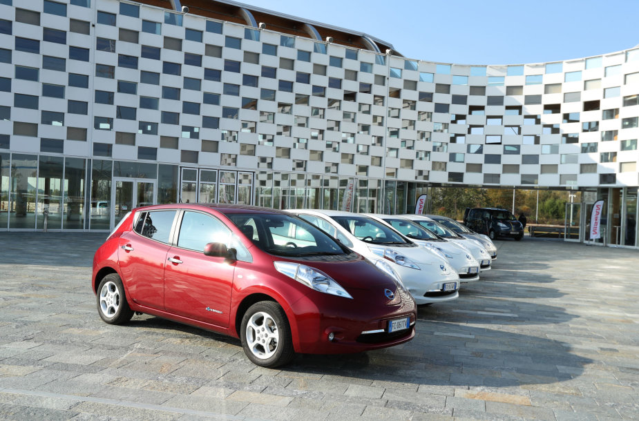"""Nissan Leaf"" Italijoje"