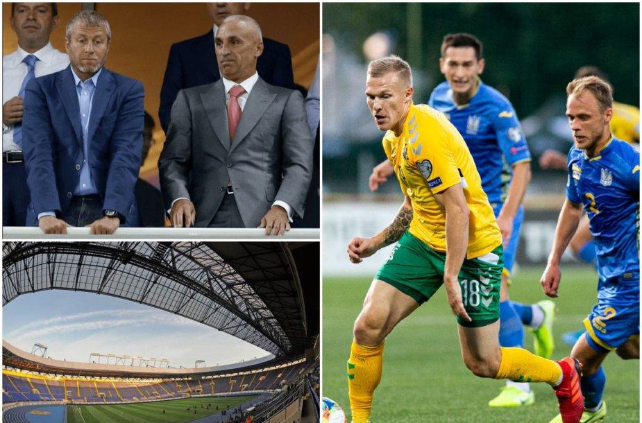 Penktadienį Charkive susitinka Ukraina ir Lietuva