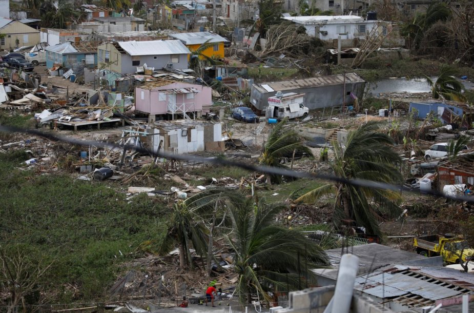 Puerto Rikas po uragano Maria