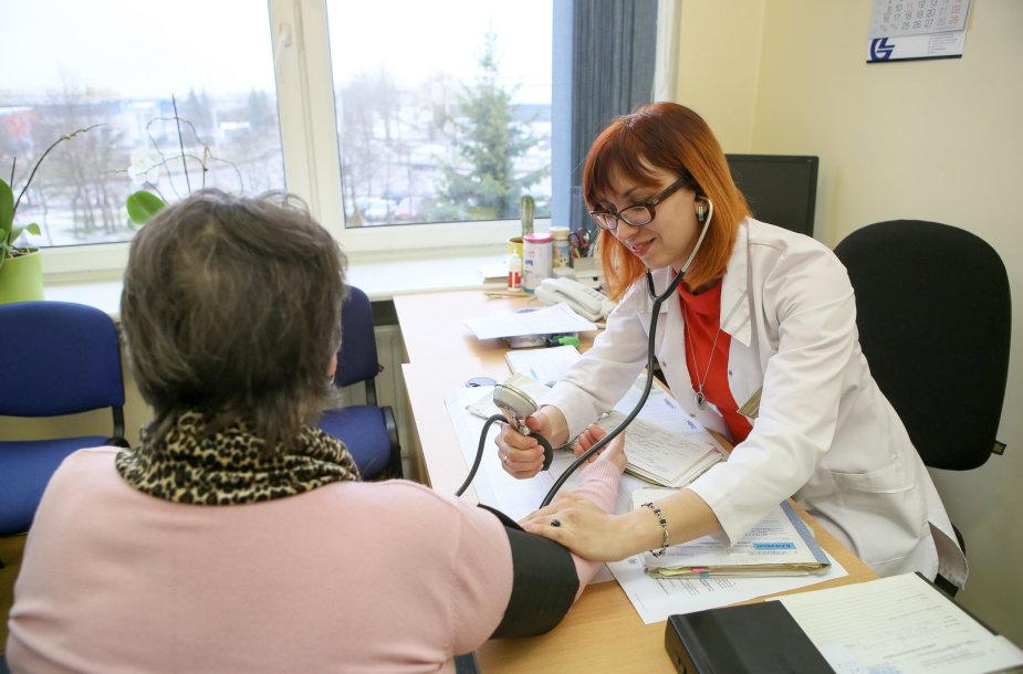 Gydytojos konsultacija