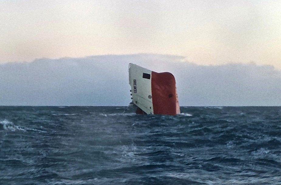 """Nuskendęs laivas """"Cemfjord"""""""