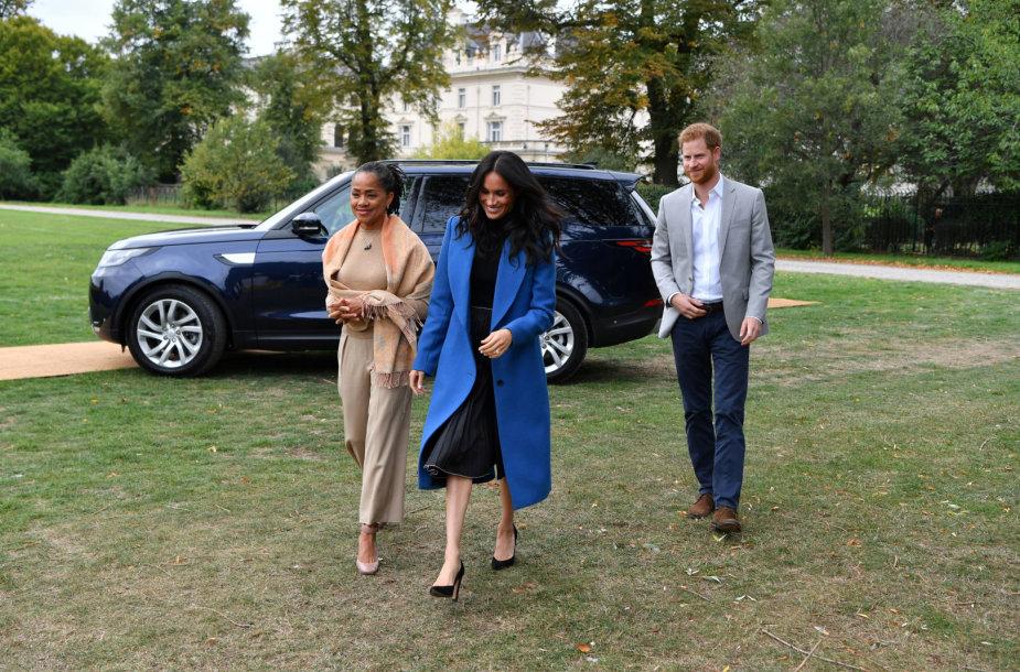 Doria Ragland, Sasekso hercogienė Meghan ir princas Harry