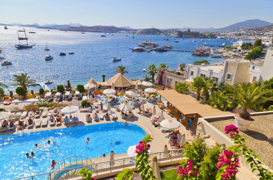 Viešbutis Turkijoje