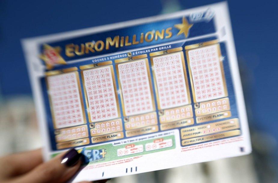 """Euromilijonų"" bilietas"