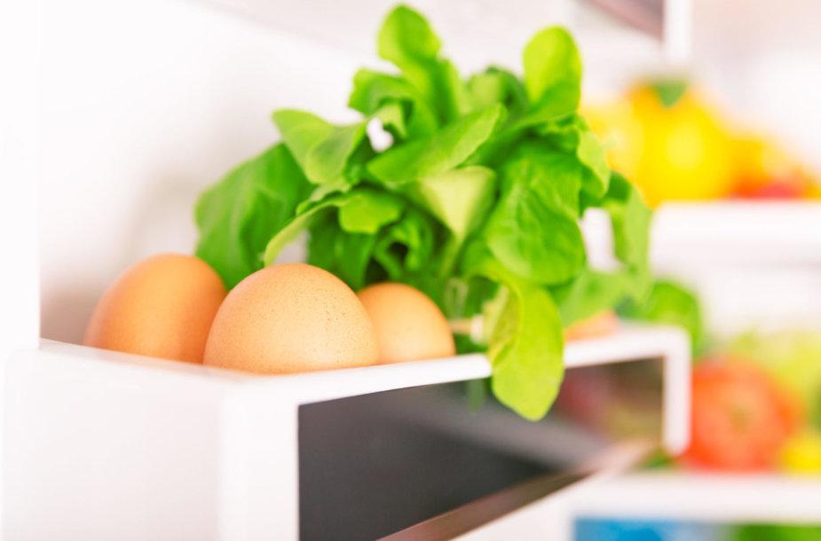 Produktai šaldytuve