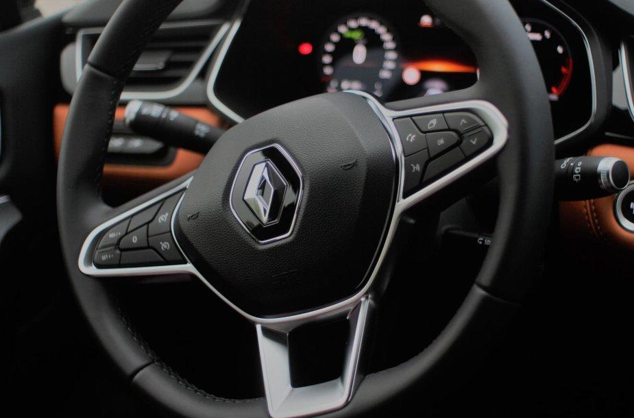 """Renault Captur"" – pavairuok ateitį jau šiandien"
