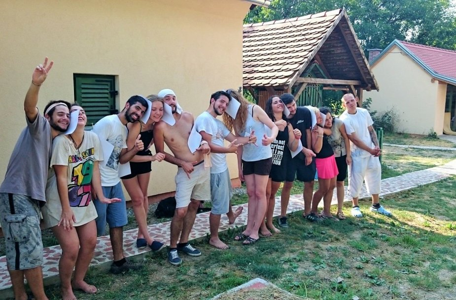 Europos savanorių tarnybos Kroatijoje metu