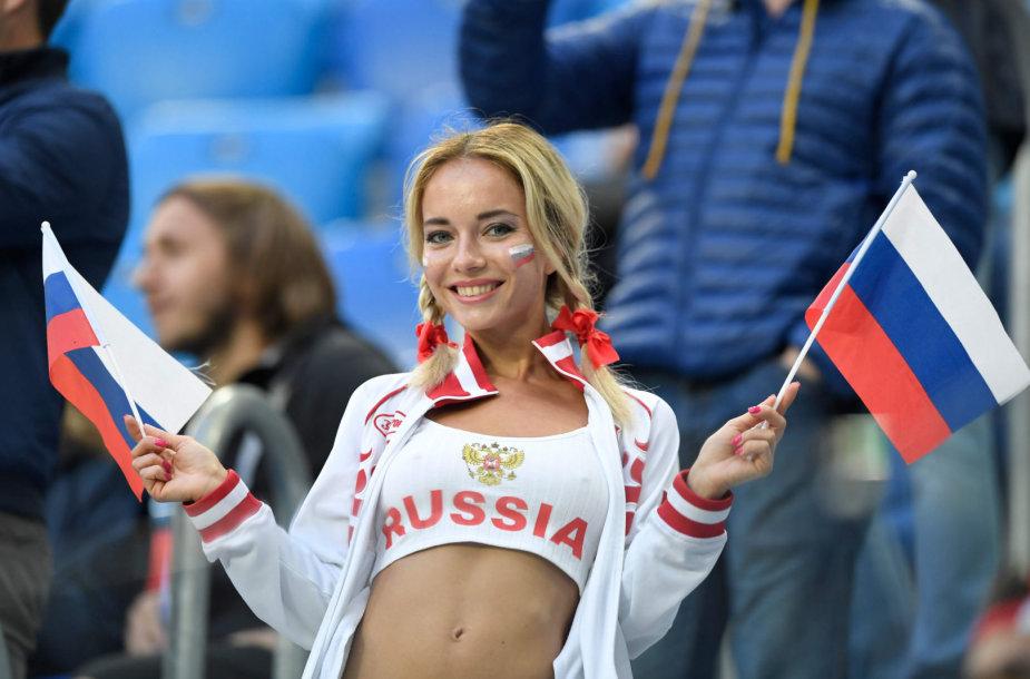 Rusijos futbolo sirgalė