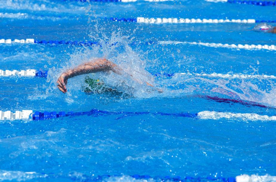 Lietuvos plaukikai olimpiniame festivalyje