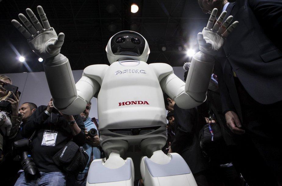 """""""Asimo"""" robotas"""