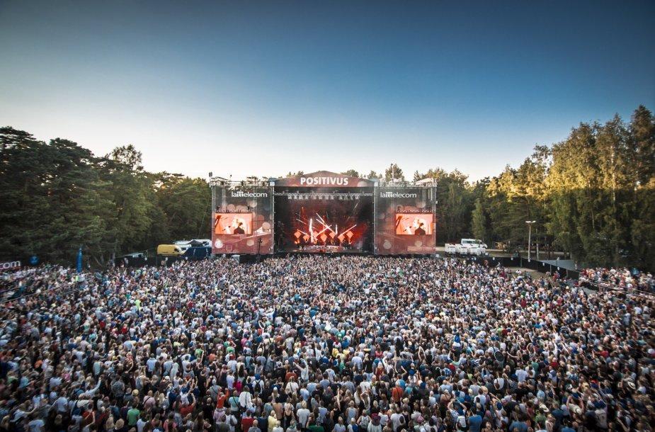 """Positivus 2014"" / Festivalio organizatorių nuotr."