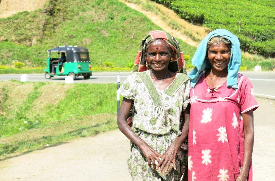 Skirtingi Šri Lankos veidai