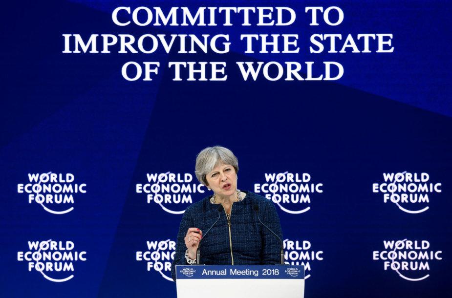 Theresa May Davose