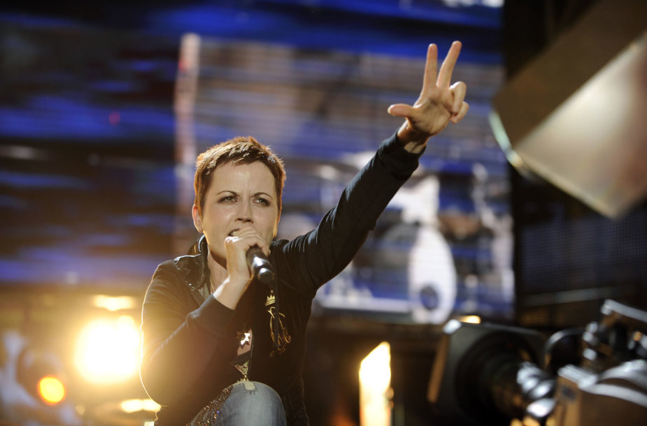 """The Cranberries"" vokalistė Dolores O'Riordan"
