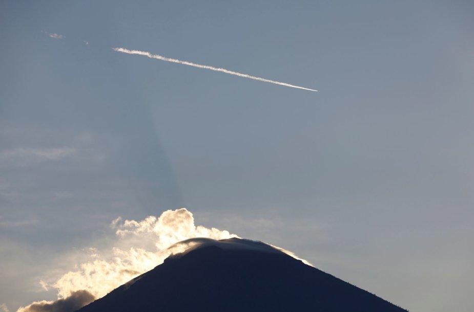 Agungo ugnikalnis Balyje
