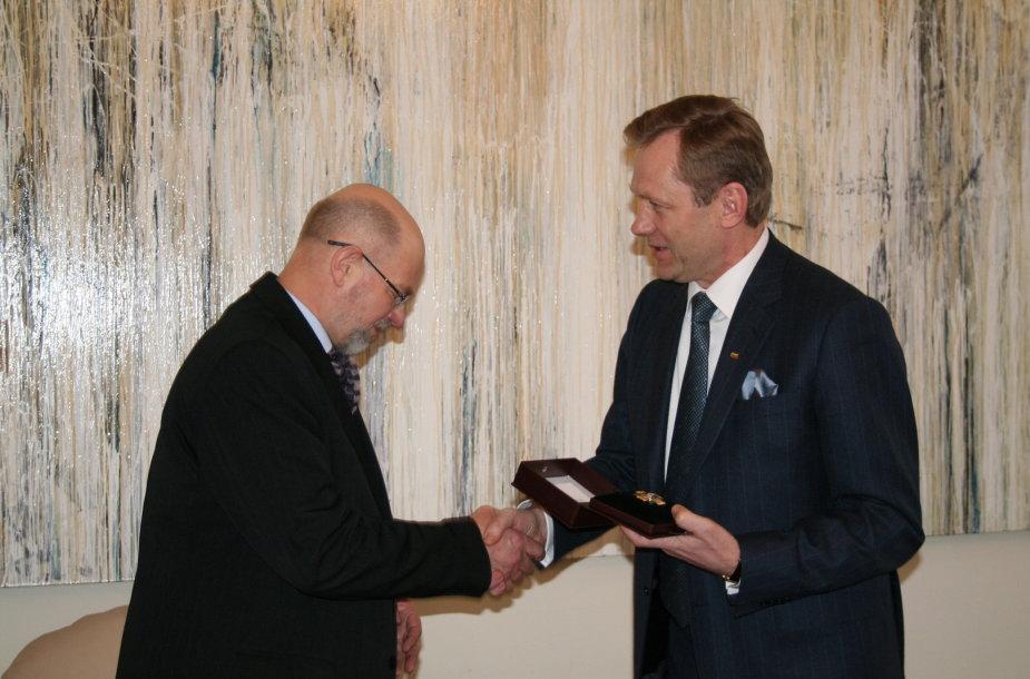Viktoras Gerulaitis ir Šarūnas Birutis