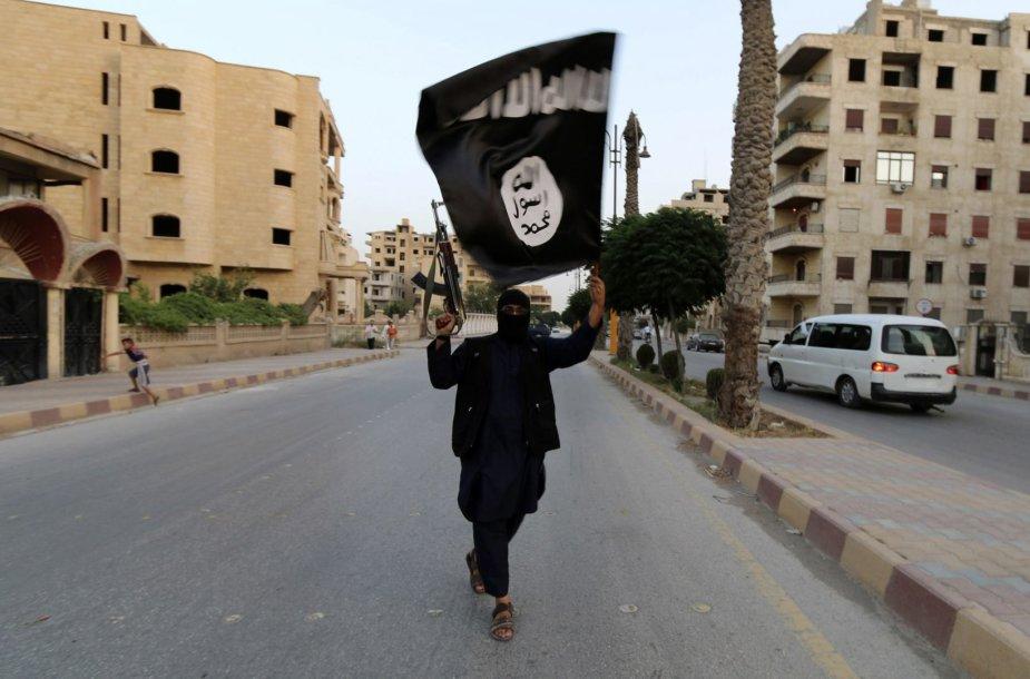ISIL sukilėlis