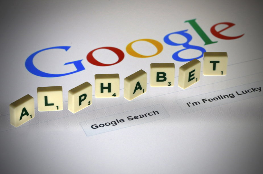 """""""Google"""" motininė įmonė """"Alphabet"""""""