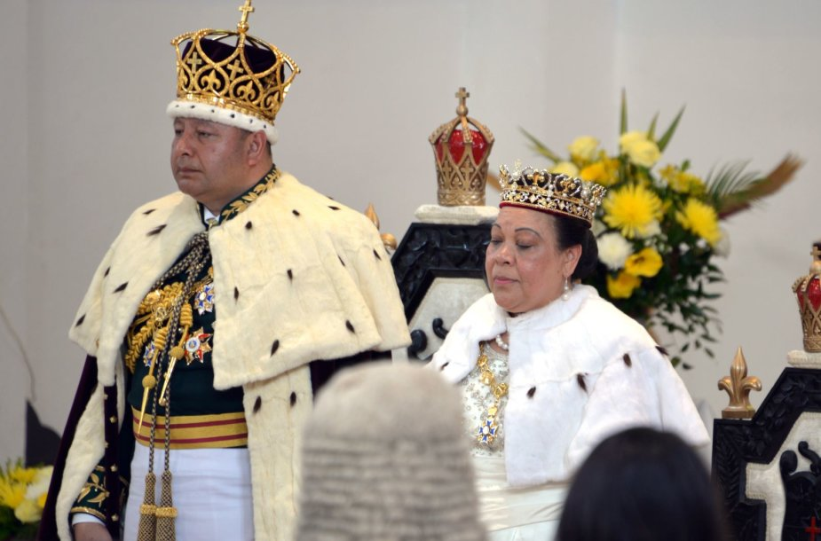 Tongos karalius Tupou VI