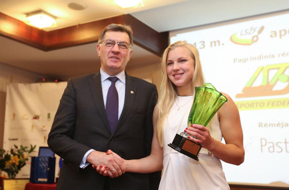 Algirdas Butkevičius ir Rūta Meilutytė