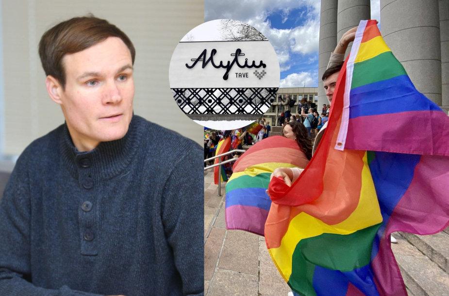 Algirdas Gataveckas, LGBT eitynės Vilniuje
