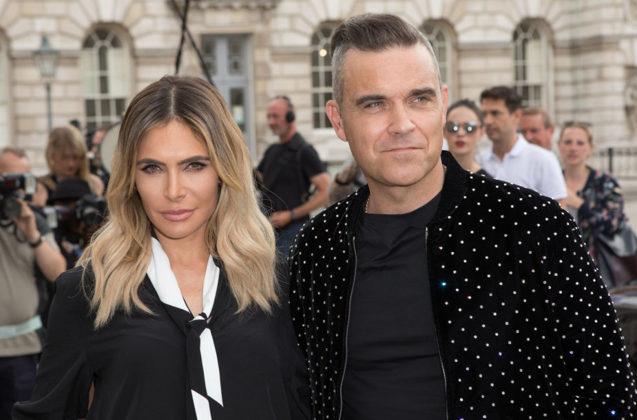 Robbie Williamsas ir Ayda Field