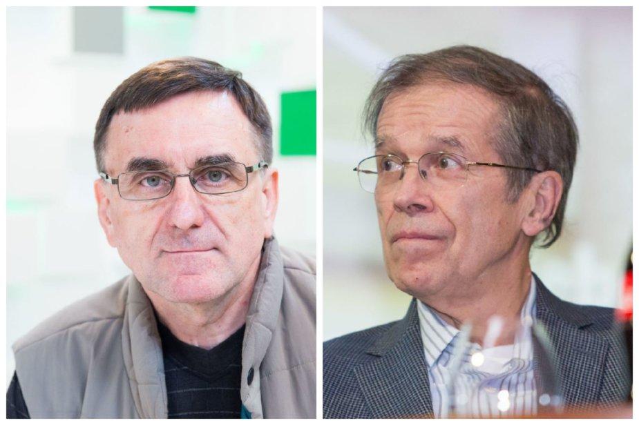 Lauras Bielinis ir Kęstutis Girnius