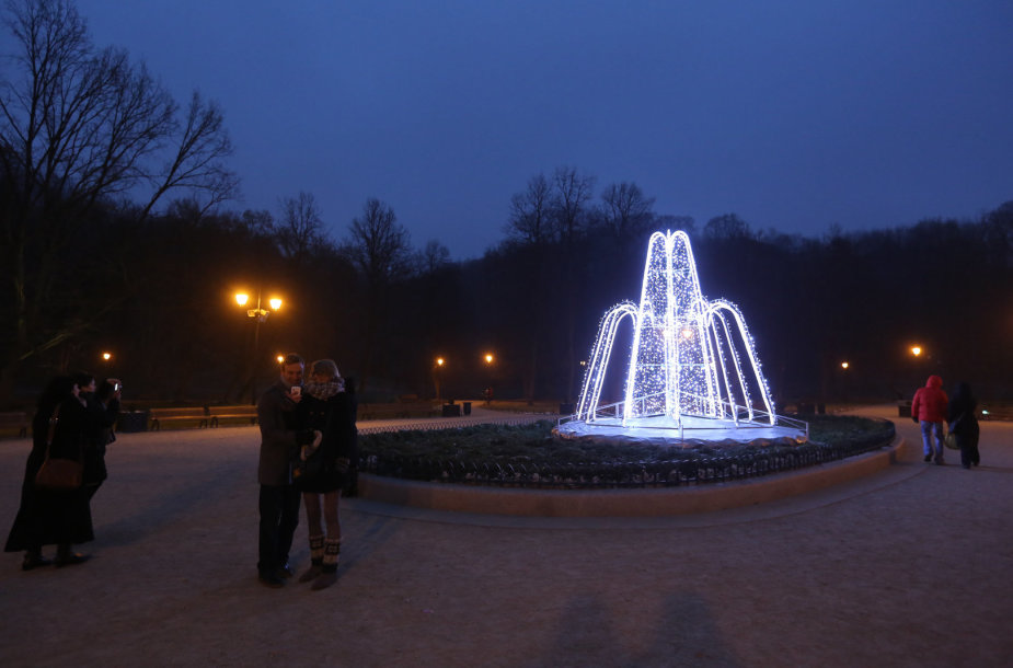 Kalėdinės nuotaikos Bernardinų sode