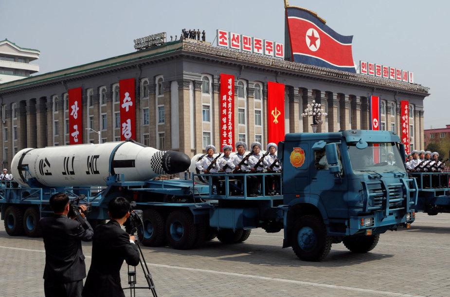 JAV piliečiai netrukus nebegalės vykti į Šiaurės Korėją