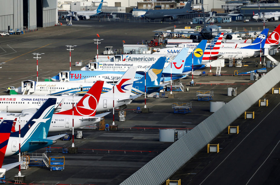 "Nutupdyti ""Boeing 737 Max"""