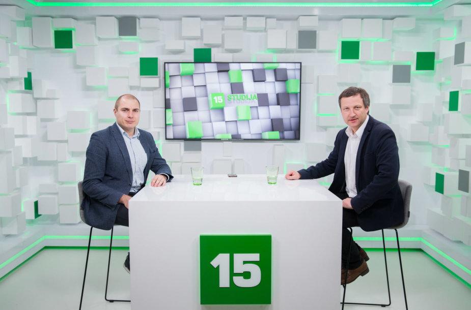 Ernestas Naprys ir Marius Jokūbaitis