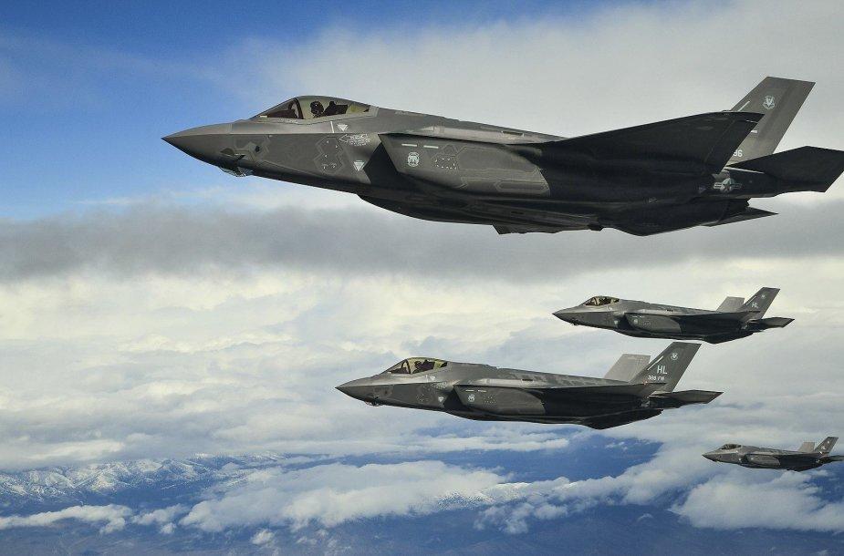 """""""F-35"""" naikintuvas"""