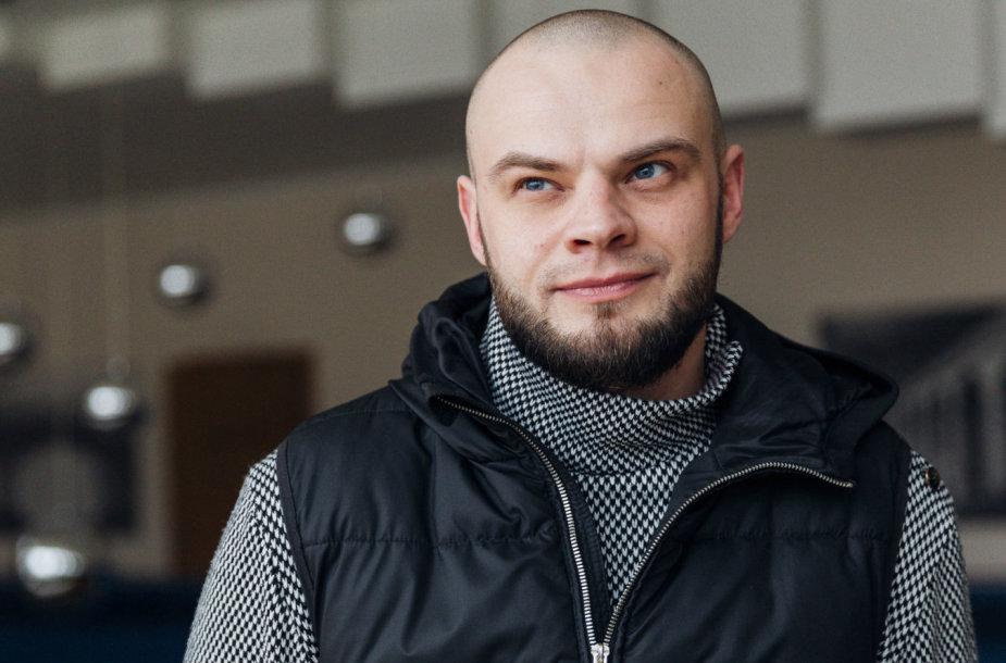 Juozo Miltinio teatro vadovas Leonas Blėdis