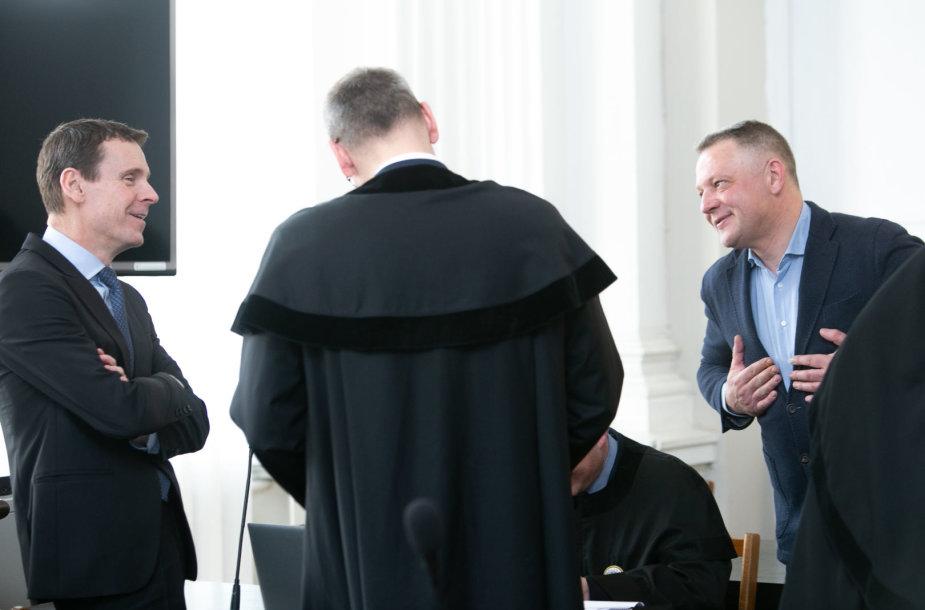 Raimondas Kurlianskis ir Eligijus Masiulis