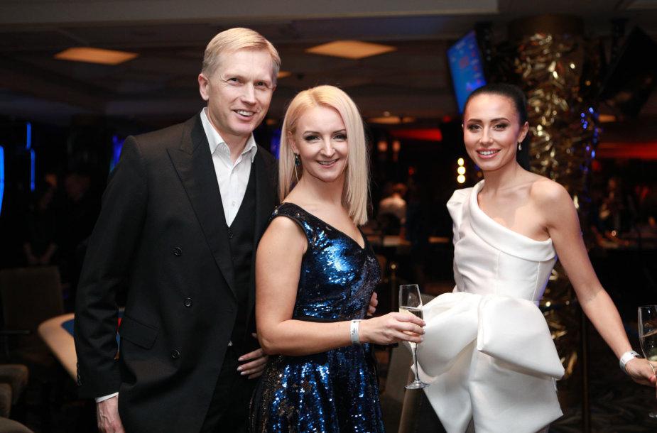 Artūras Butkevičius, Viktorija Mauručaitė ir Gabrielė Rutkauskienė-Vasha